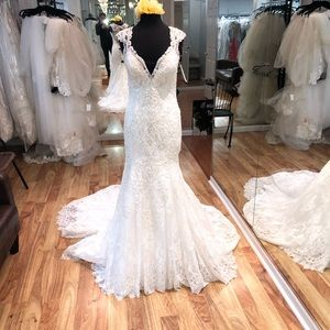 Allure Bridals C490 ivory 14